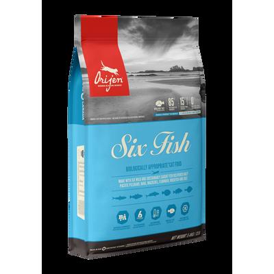 ORIJEN Chat Six Fish 5.4 kg