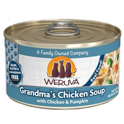 Conserve Weruva Soupe au poulet  85 g