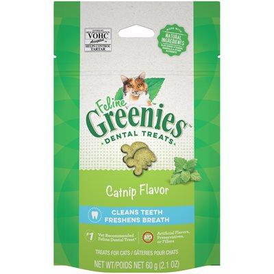 Féline Greenies Dentaire herbe à chat 60 g