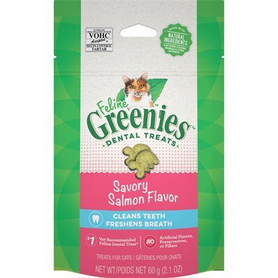 Féline Greenies Dentaire saumon 60 g