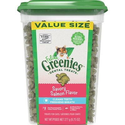 Féline Greenies Dentaire saumon 277 g (VALUE)