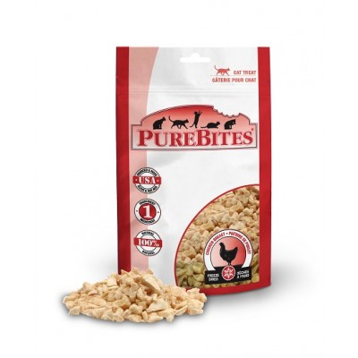 Purebites Chat  poulet 17g