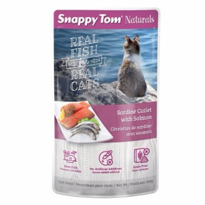 Snappy Tom Sardine & Saumon 100 g
