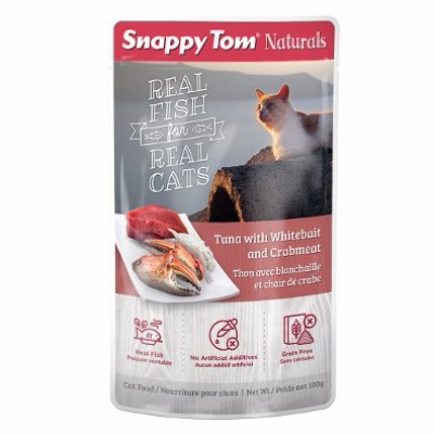 Snappy Tom Thon & Crabe 100 g