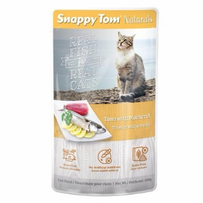 Snappy Tom Thon & Maquereau 100 g