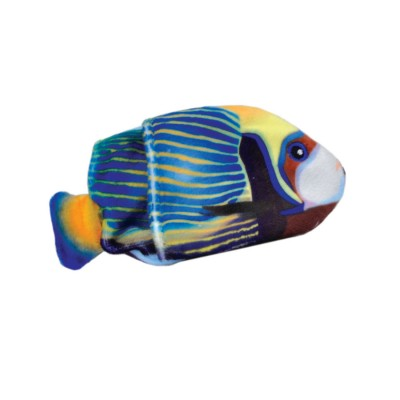Turbo jouet poisson herbe a chat  rechargeable