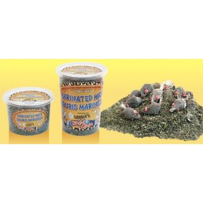 Simon's Herbe à Chat avec souris marinées