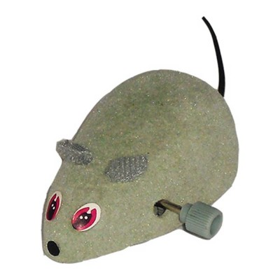 """Motor Souris jouet chat grise  2.5"""""""