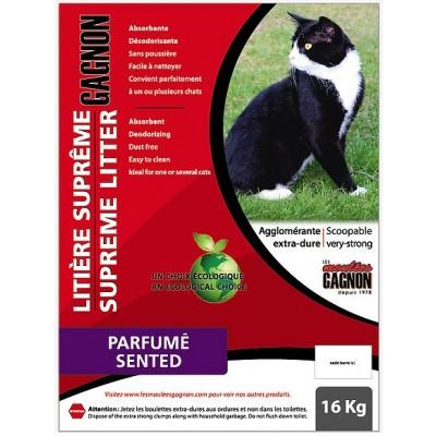 Litière agglomérante Gagnon parfume 16 kg