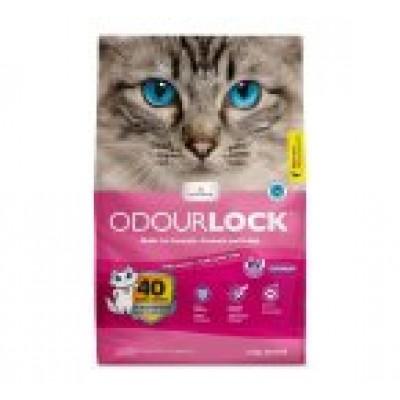 Odour Lock Litière agglomérante Poudre de Bébé 12 kg