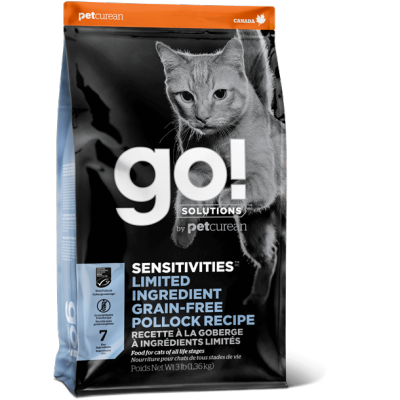 GO! Petcurean Goberge sans grains 8 lbs