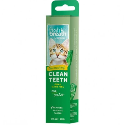 Fresh Breath Gel dentaire chat 59 ml