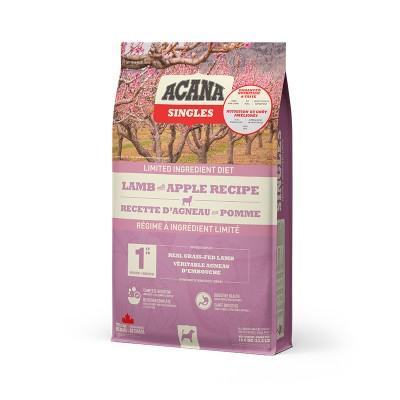 ACANA Chien Singles Agneau & Pomme 1.8 kg (Nouvel emballage)