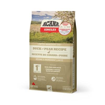 ACANA Chien Singles Canard & Poire 1.8 kg (Nouvel emballage)