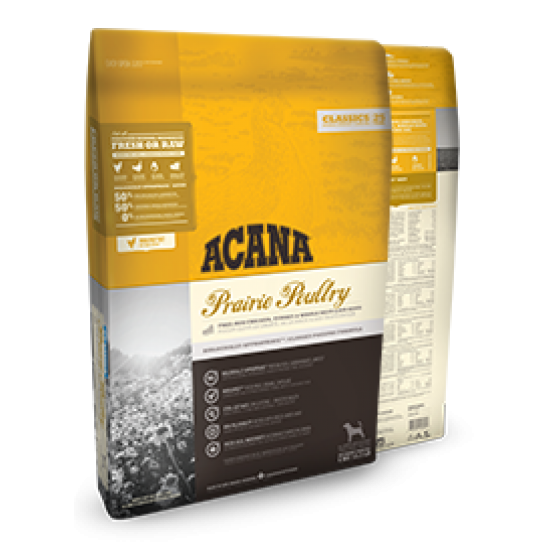 ACANA Chien Classic Prairie Poultry 17kg