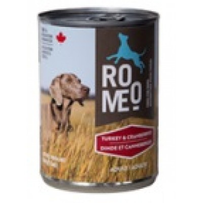 ROMEO Conserve Chien Dinde & Canneberges 13oz