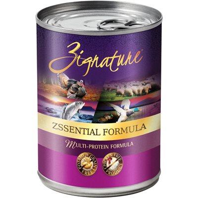 Zignature Formule Ingrédients Limités Zssentiels 13 oz