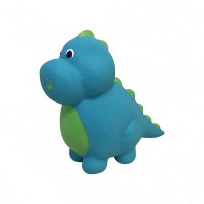 Foufit Jouet Latex Dinosaure Bleu