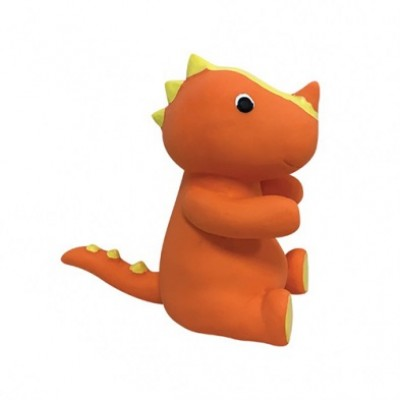 Foufit Jouet Latex Dinosaure Orange