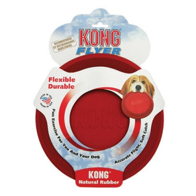 Kong Frisbee Classic Rouge