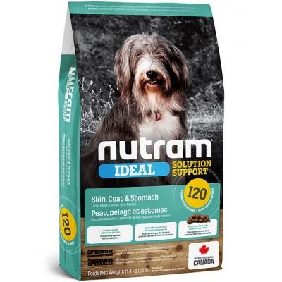 Nutram (I-20) chien sensible (Peau, Pelage & Estomac) 11.4 kg