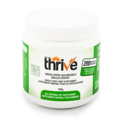 THRIVE Supplement Moules Vertes 160g