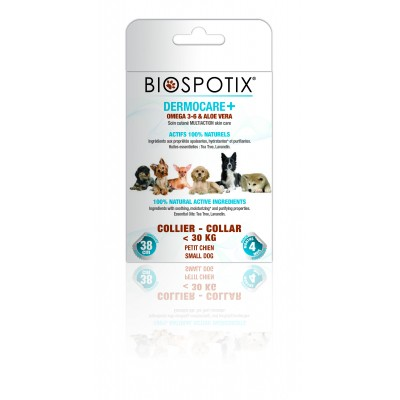 Biogance Biospotix Dermacare + Collier petit chien ( jusqu'a 20 lbs)