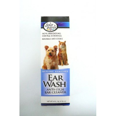 Four Paws Nettoyeur Oreille Ear Wash 4 oz