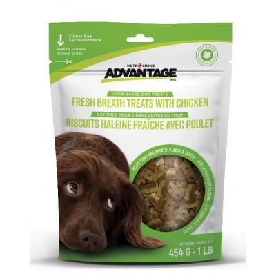 Advantage biscuits haleine fraîche 454 gr