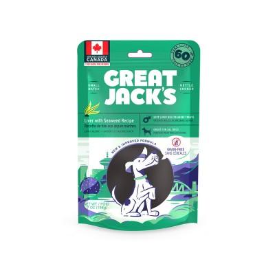 Great Jack's Foie & Algues 198 g