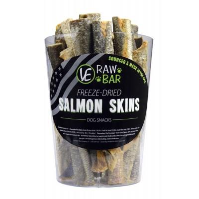 VE RawBar Peau de Saumon lyophilisée (Unité)