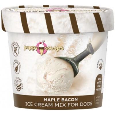 Puppy Scoops Crème Glacée Bacon a L'erable