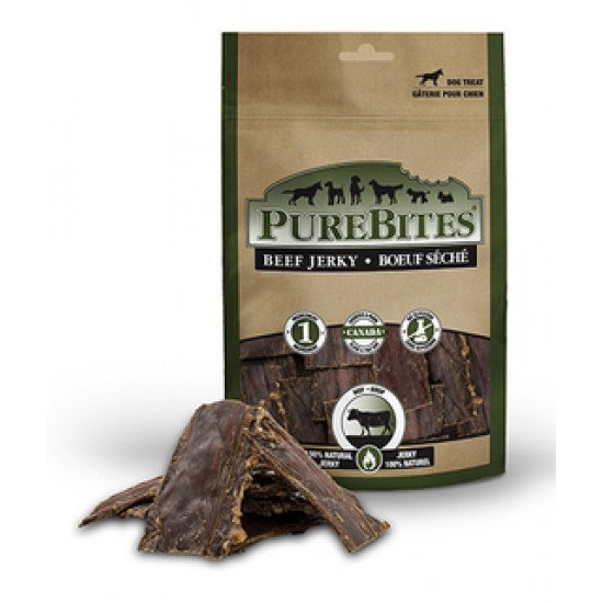Purebites Chien Jerky Boeuf Seche 213 g