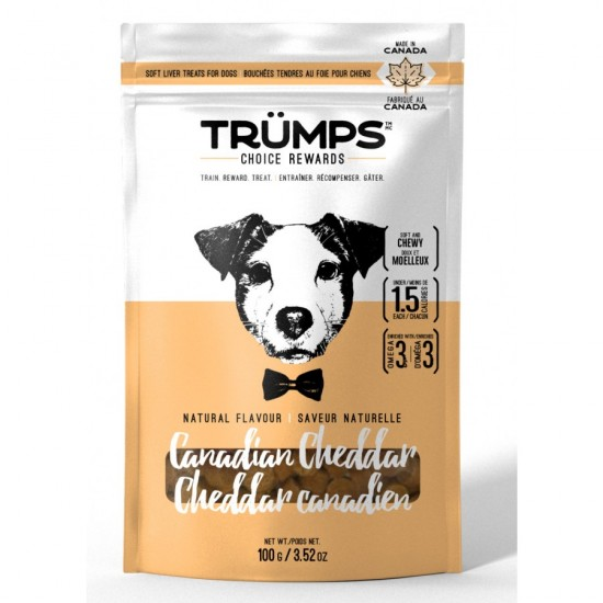 Trumps tendre au Fromage Cheddar 100g