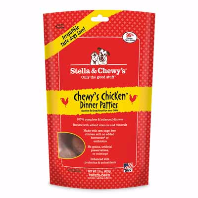 Stella & Chewy's Poulet (freeze-dried) 14 oz