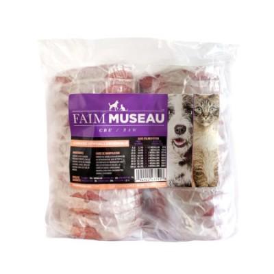 Faim Museau Cru Canard Hypoallergénique chien / chat 1 Médaillon