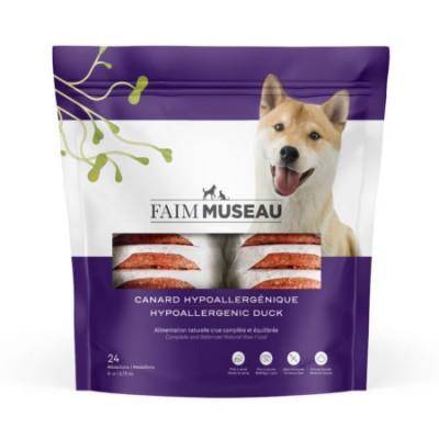 Faim Museau Cru Canard Hypoallergénique chien / chat 6 lbs