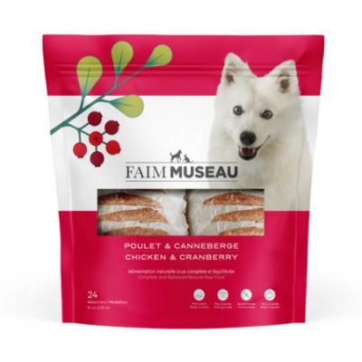 Faim Museau Cru Poulet & Canneberges chien / 6 lbs
